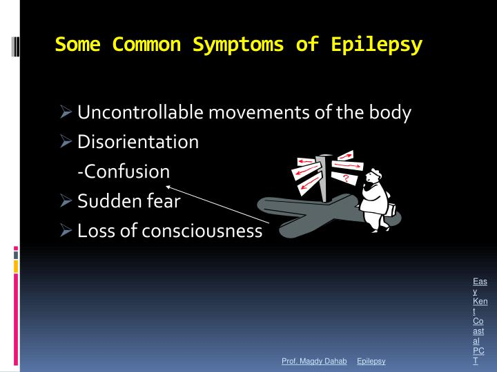Some Common Symptoms of Epilepsy