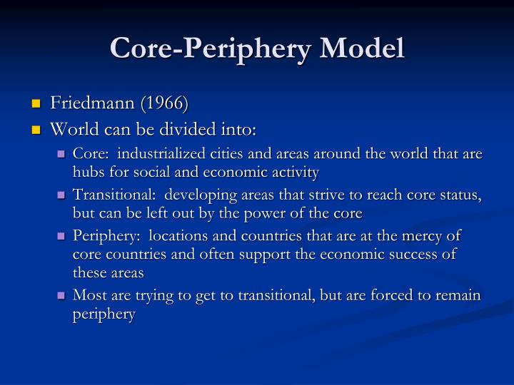 Core-Periphery Model