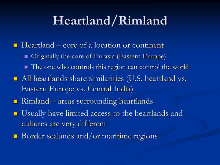 Heartland/Rimland