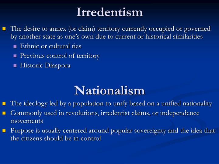Irredentism