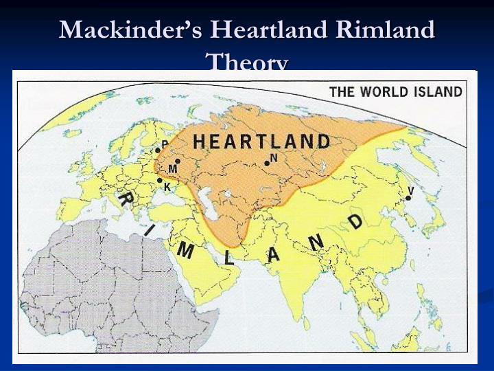 Mackinder's Heartland Rimland Theory