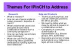 themes for ipinch to address