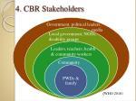 4 cbr stakeholders