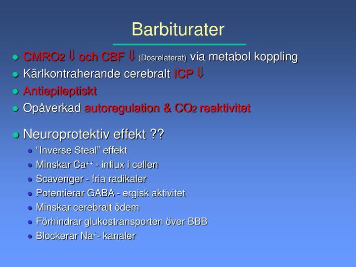 Barbiturater