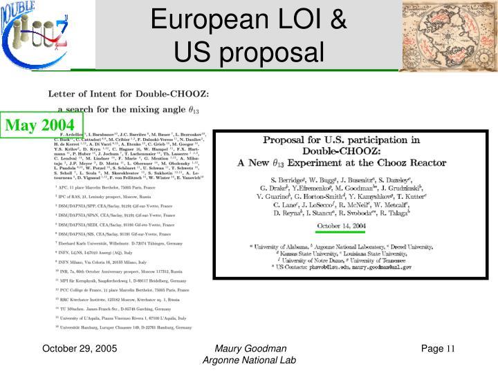 European LOI &