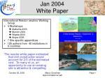 jan 2004 white paper