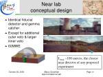 near lab conceptual design