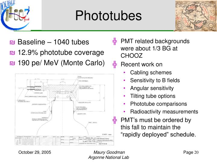 Phototubes