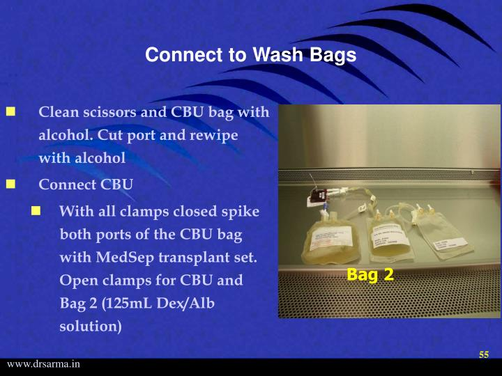 Connect to Wash Bags