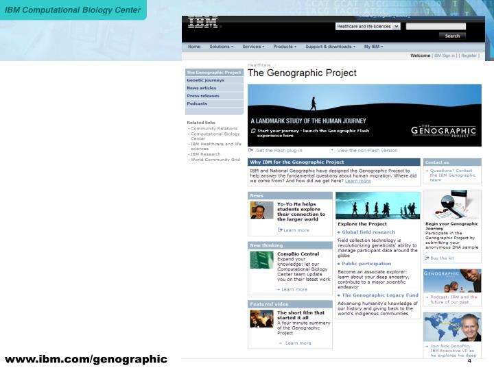 www.ibm.com/genographic