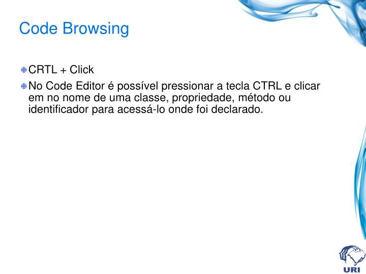 Code Browsing