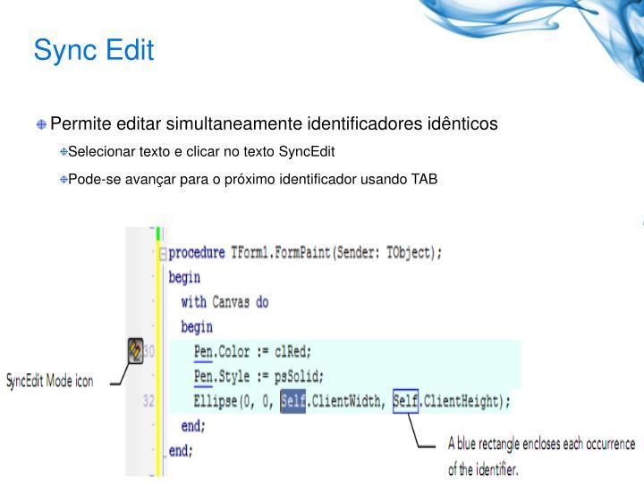 Sync Edit