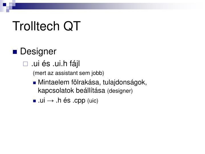 Trolltech QT