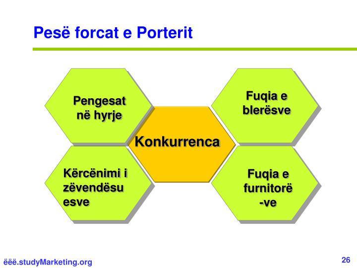 Pesë forcat e Porterit