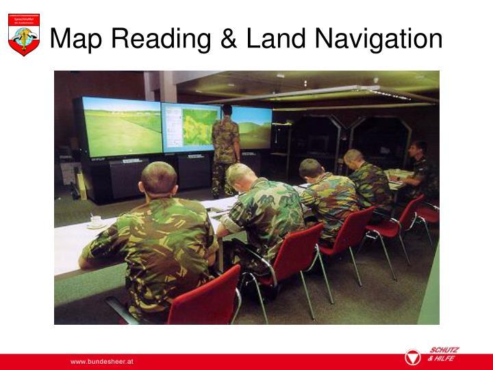 Map Reading & Land Navigation