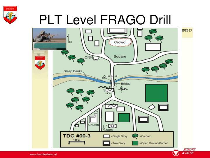 PLT Level FRAGO Drill