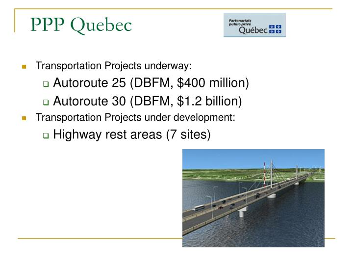 PPP Quebec