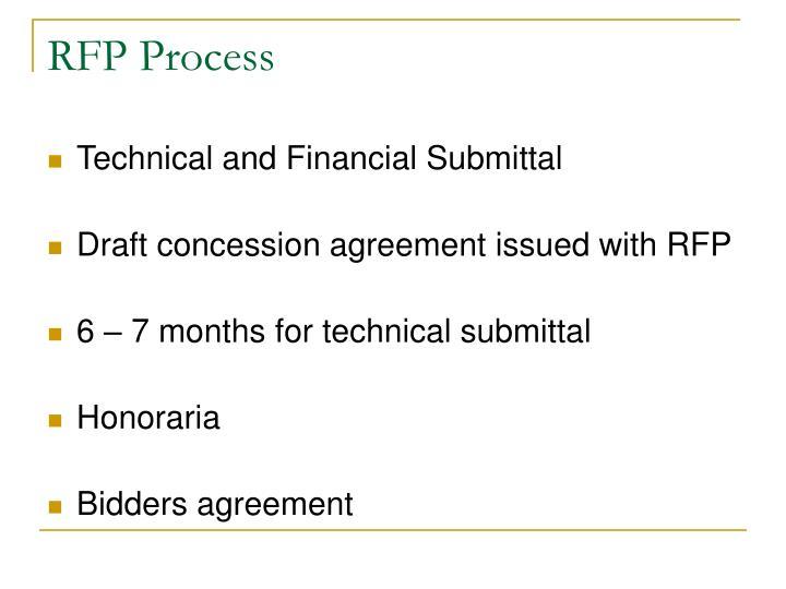 RFP Process