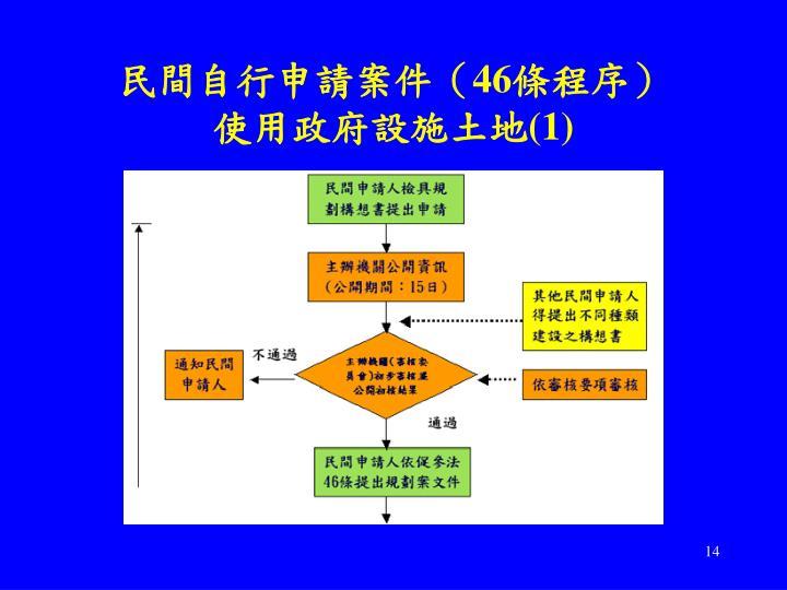 民間自行申請案件(
