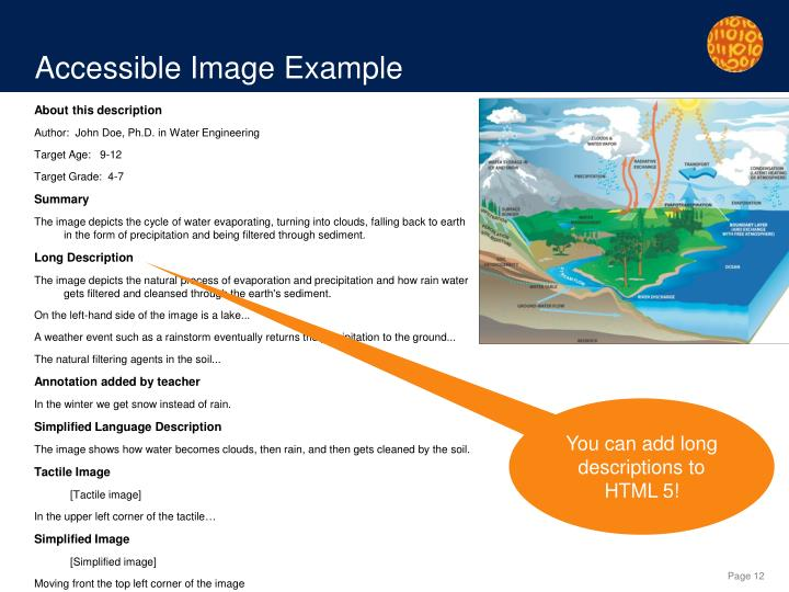 Accessible Image Example
