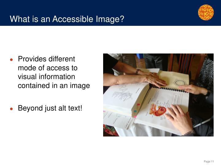 What is an Accessible Image?