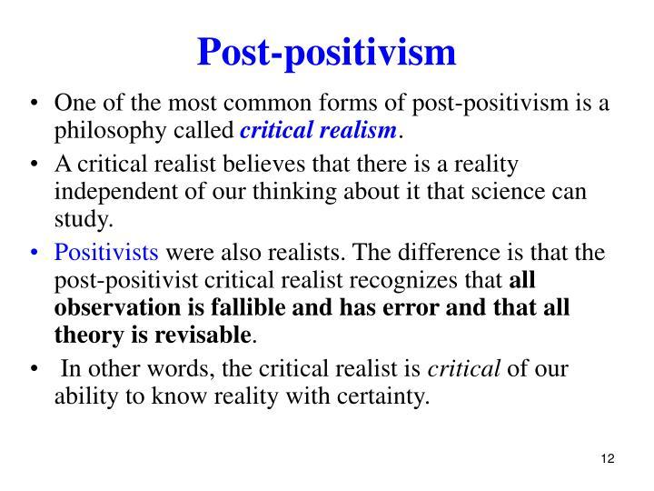 Post-positivism