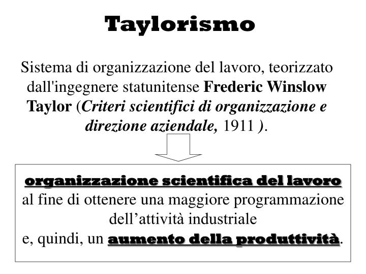 Taylorismo
