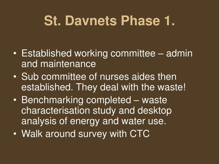 St. Davnets Phase 1.