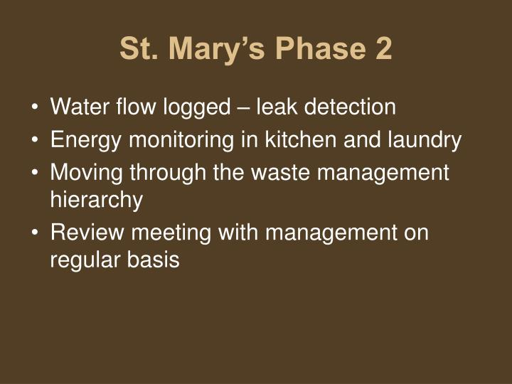 St. Mary's Phase 2