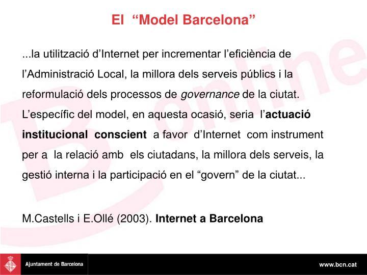 """El  """"Model Barcelona"""""""