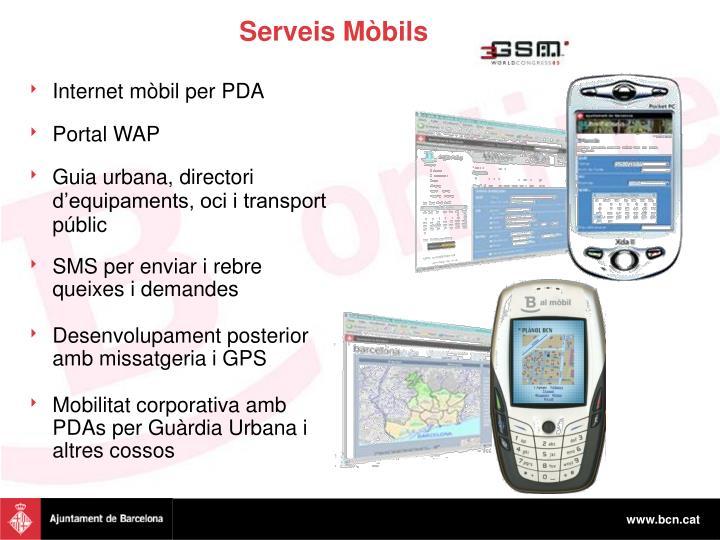 Serveis Mòbils