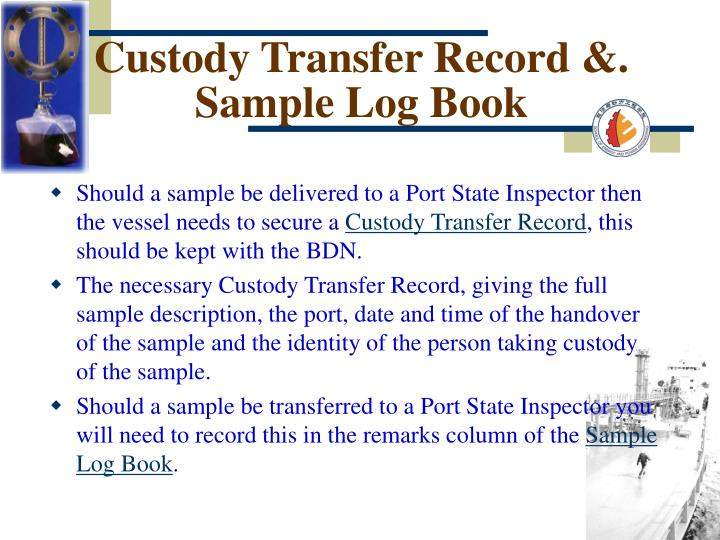 Custody Transfer Record