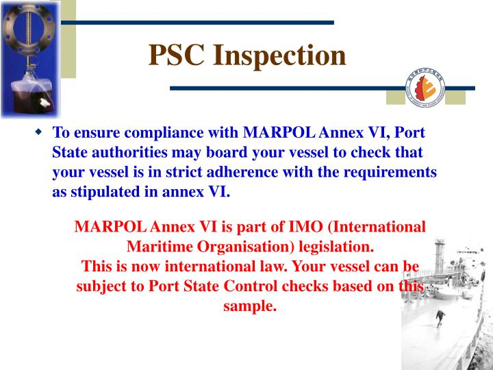PSC Inspection