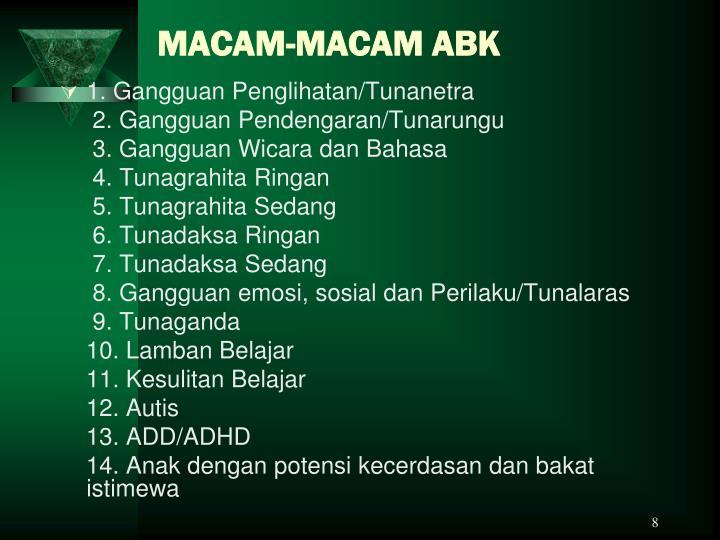 MACAM-MACAM ABK