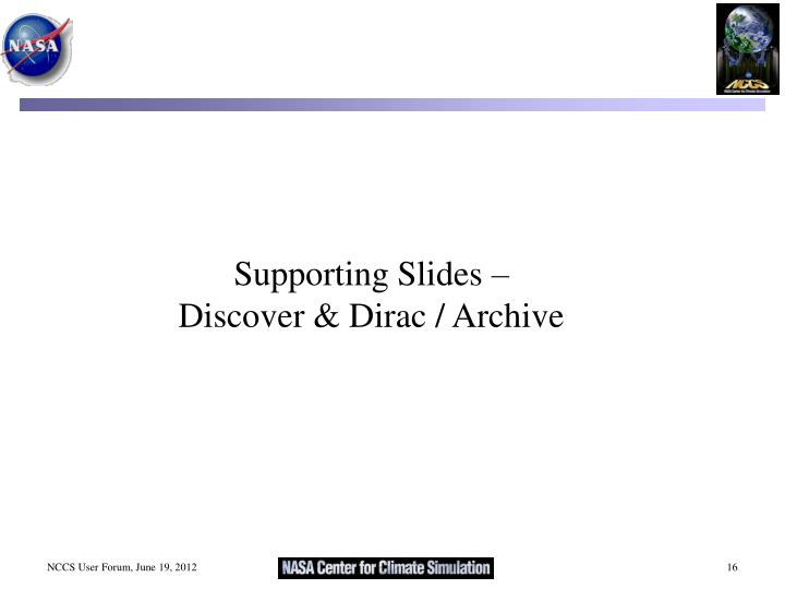 Supporting Slides –
