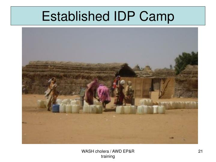 Established IDP Camp