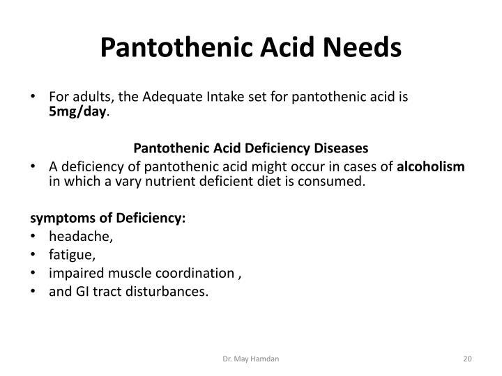 Pantothenic