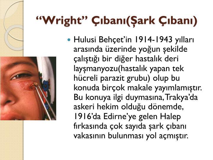 """Wright"""