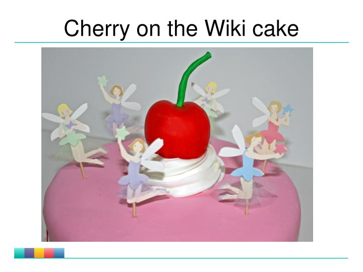 Cherry on the Wiki cake