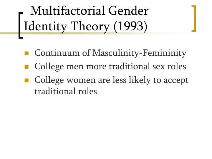Multifactorial Gender