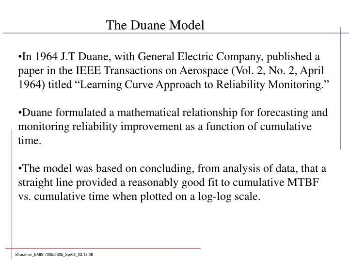 The Duane Model