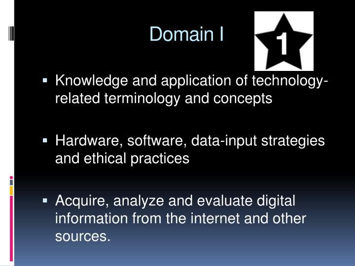 Domain I