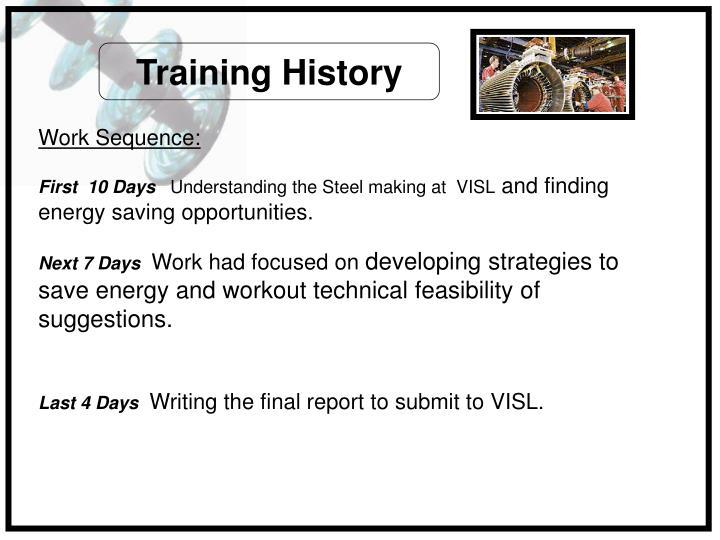 Training History