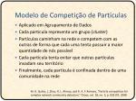 modelo de competi o de part culas