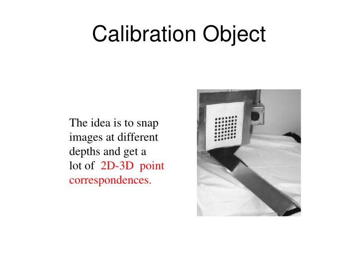 Calibration Object