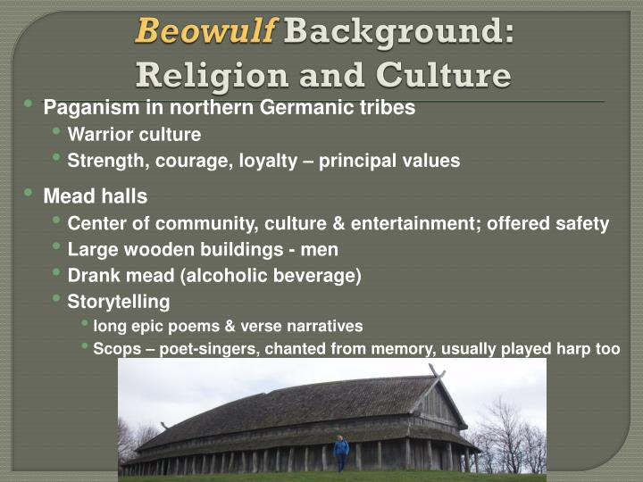 a look at the anglo saxon beliefs in the epic beowulf A brief lesson on the early history of the anglo-saxons and the influences on the early epic poem \beowulf\.