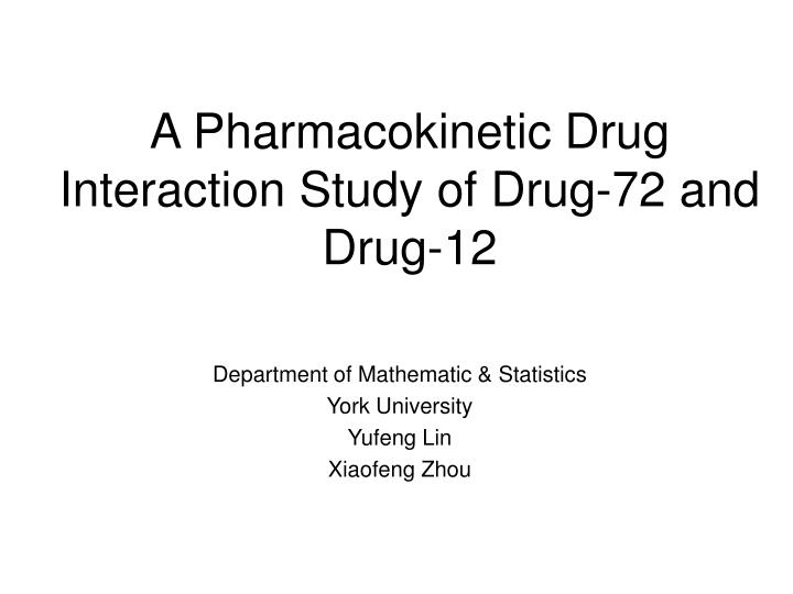 Drug interaction legal definition of drug interaction