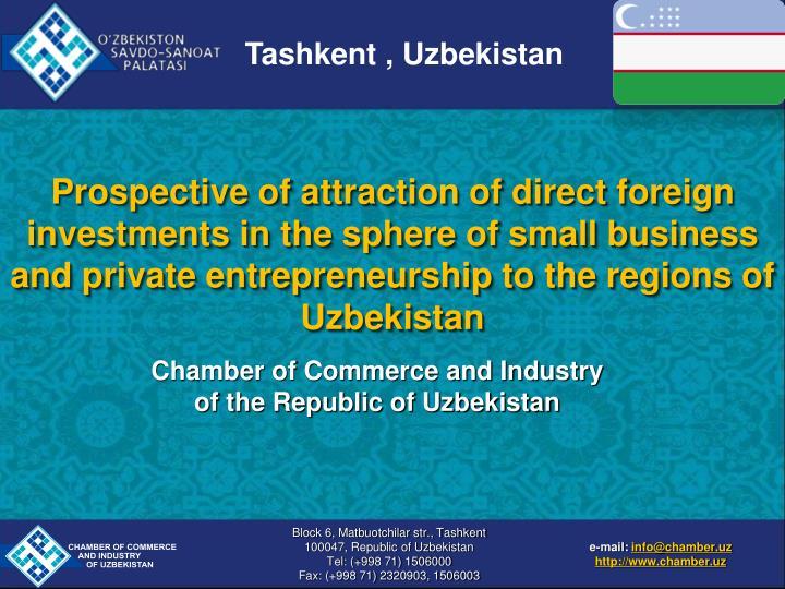 Tashkent , Uzbekistan