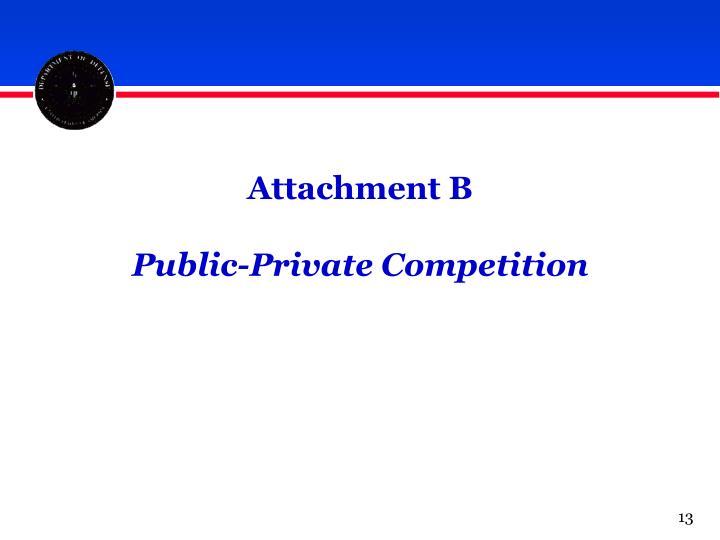 Attachment B