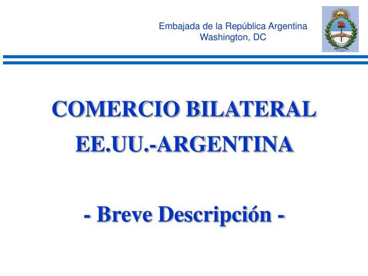 Embajada de la República Argentina